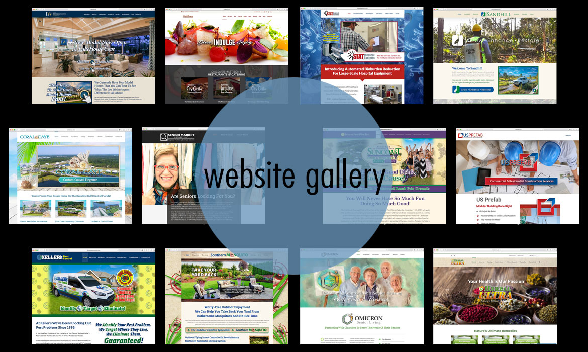 Web Projects Gallery